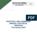 Protocol and Command Manual - Panama