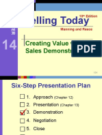 Ch 14 - Custom Fitting the Sales Demonstration