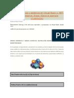 Arrays Dinámicos y Estáticos en Visual Basic y