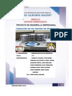 Modelo de Proyecto de Administracion