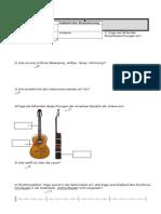 Musiktest 5c Saiten Notenwerte Sinfonie Gruppe A