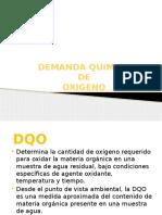 DEMANDA QUIMICA