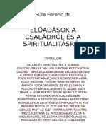 Süle Ferenc - Előadások a Családról És a Spiritualitásról