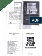 Destinos Pessoais E Estructura de Classe- Bertaux