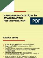 ASIGURAREA CALITATII