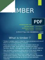 Timber 3rd Yr