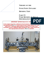 4pb Part IV Pure Bending Shear Deformation