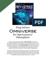 Omniverse Read Me