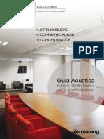 Guía Acústica Función de los techos en la acústica pasiva