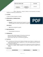 SIG-P-005 Revision Por La Direccion