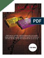 Emu command station xl7 mp7 data
