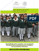 CUARTA SESION Aprendizaje Entre Escuelas