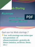 Web Storings (Sitios de Almacenamiento Gratuito)