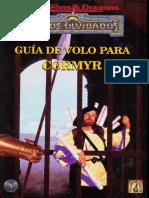 D&D - 2.0 - TJ - Forgotten Realms - Guía de Volo para Cormyr [TSR9486].pdf