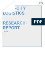 Logistics Research Report Draft