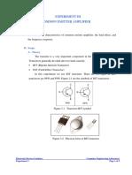 [Experiment 3] BJT - Common Emiter Amplifier.pdf