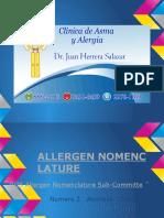 2. Chordata Alergenos Nomenclatura  IUIS.pptx