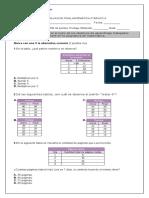 Final Matematica Cuarto