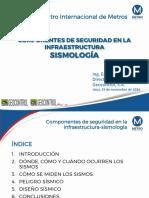 Componentes Seguridad Infraestructura Sismologia