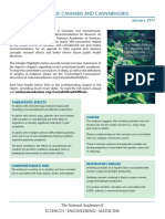 Chapter highlights from NAS report The Health Effects of Cannabis and Cannabinoids Conclusions