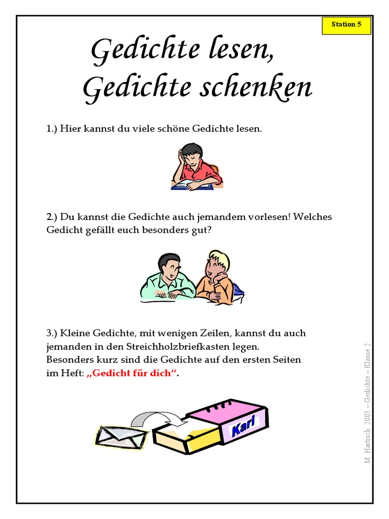 1 Poems For Kids In German