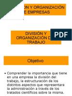 Division Del Trabajo