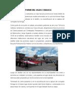 Informe Del Viaje a Yanaoca