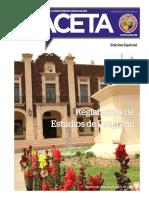 Reglamento de Estudios de Posgrado 2013