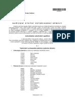 Nařízení Krajské veterinární správy v Hradci Králové
