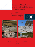 3D Modeling in Archaeology and Cultural