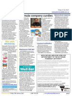 Pharmacy Daily for Fri 13 Jan 2017 - Formula company curdles, J