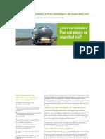 Cómo Se Debe Implementar El Plan Estratégico de Seguridad Vial