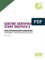 Durchfuehrungsbestimmungen A2 Start Deutsch 2