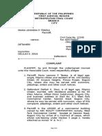 Unlawful Detainer (Sample)