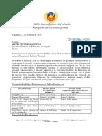 Derecho de Peticion a SED Bogotá - Excusa Laboral 2017 Para Judíos, Musulmanes y Católicos