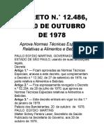 DECRETO N.° 12.486