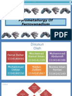 Pyrometallurgy of Ferro Vanadium (1)