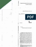 DIAS, Maria Odila L. Da S. a Interiorização Da Metrópole e Outros Estudos