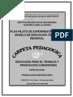 Carpeta Pedagogica E.P.T.