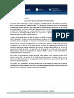 Comunicado UFI