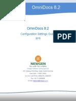 OmniDocs 8.2 Configuration Settings Guide