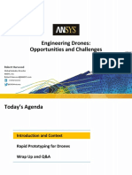 Engineering Drones Opportunities and Challenges - Webinar ANSYS