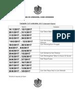 Jadual Cuti Asrama 2017 - Copy
