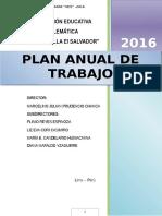 Plan Anual de Trabajo i.e.e. 6066 Ok