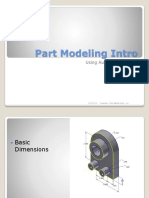 1. Inv - Part Modeling Intro