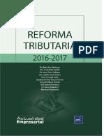 Reforma Tributaria 2016 - 2017