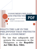 Consumerwelfareandprotection