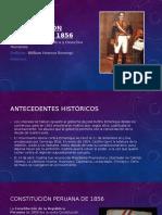 Constitución Peruana de 1856