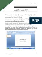 Modul Microsoft Powerpoint 2007 Untuk SD Kelas vI
