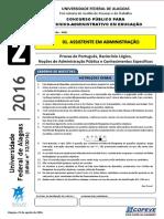 Prova - Assistente Em Administracao - NM - Tipo 2